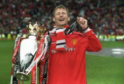 Teddy Sheringham & Premiership  Medal & Trophy, Manchester United  16 May 1999     Date: 16 May 1999